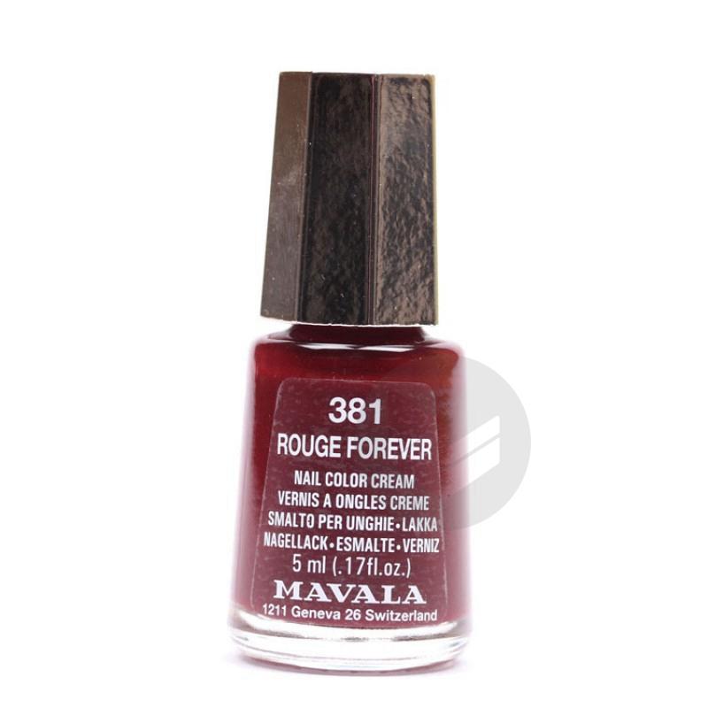MAVALA V ongles rouge forever mini Fl/5ml