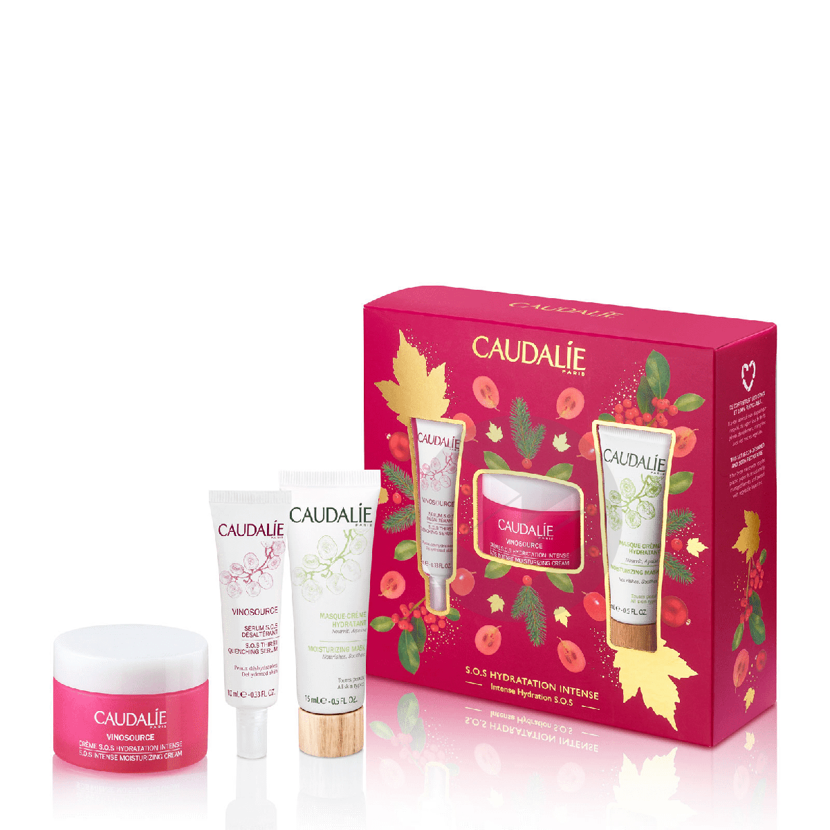 Coffret Vinosource Creme S O S Hydratation Intense