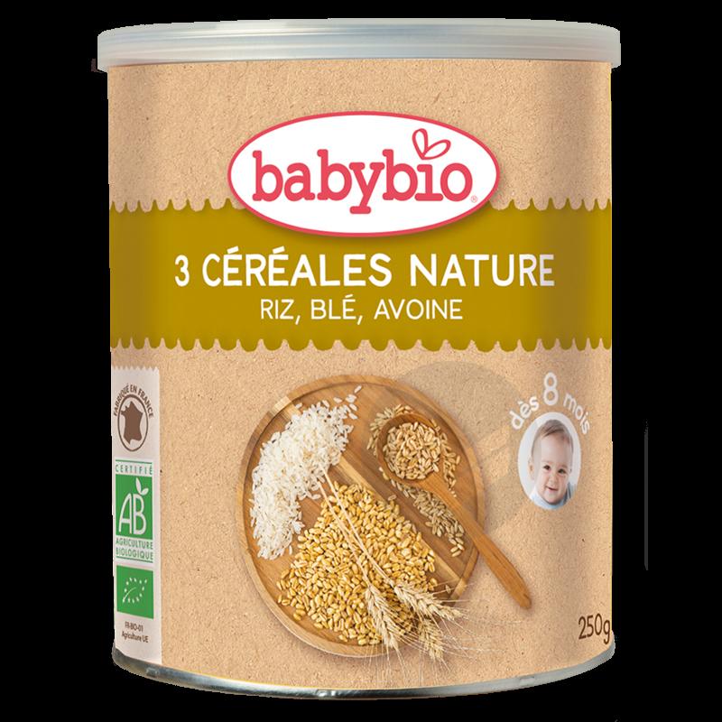 BABYBIO 3 Céréales Nature