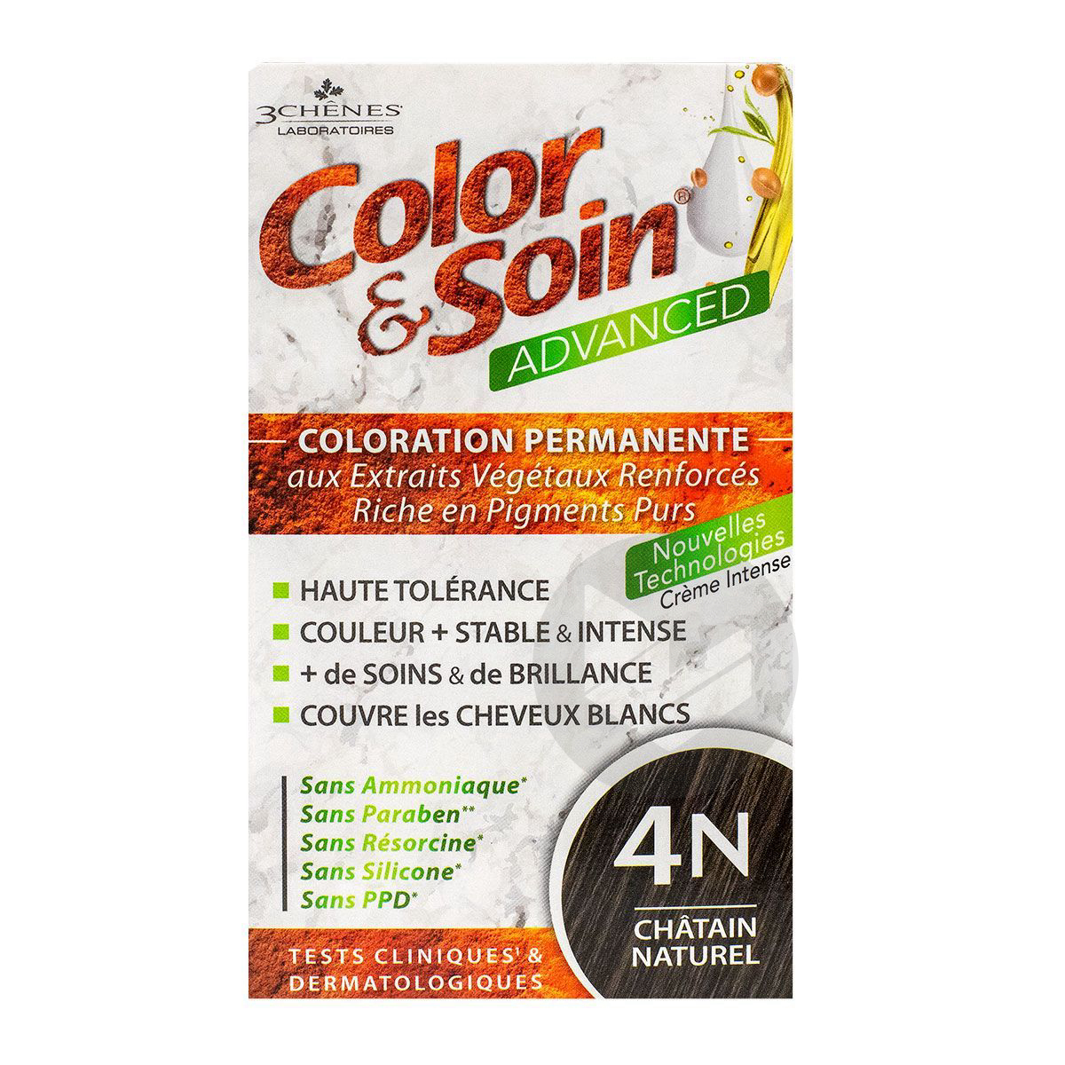 Coloration Advanced 4 N Chatain Naturel Cs