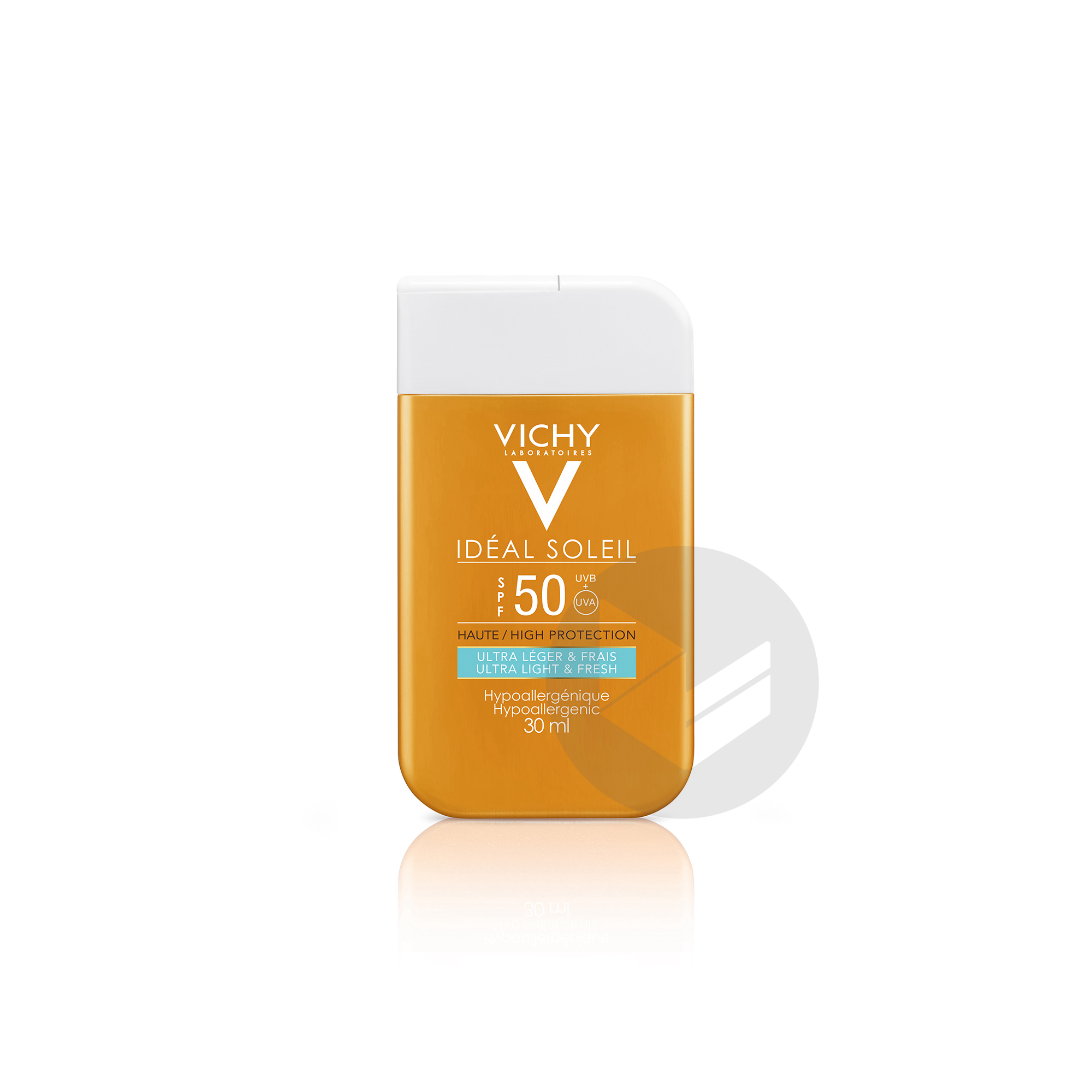 Ideal Soleil Pocket Spf 50 Ultra Leger Format Pocket 30 Ml