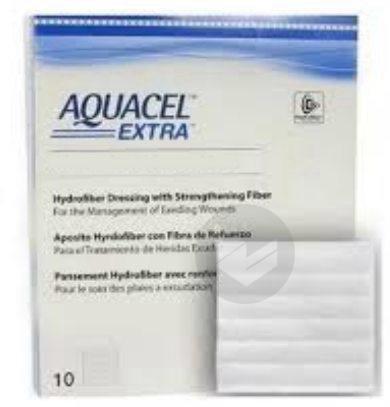 AQUACEL EXTRA Pans Hydrofiber stérile 18x23cm B/10
