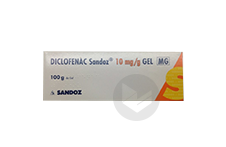DICLOFENAC SANDOZ 1 % Gel (Tube de 100g)