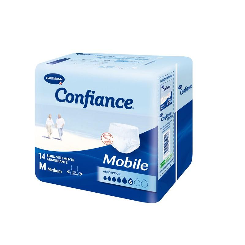 CONFIANCE MOBILE Slip absorbant jetable TM Sach/14