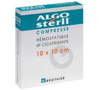 ALGOSTERIL Compr stérile 10x10cm B/16