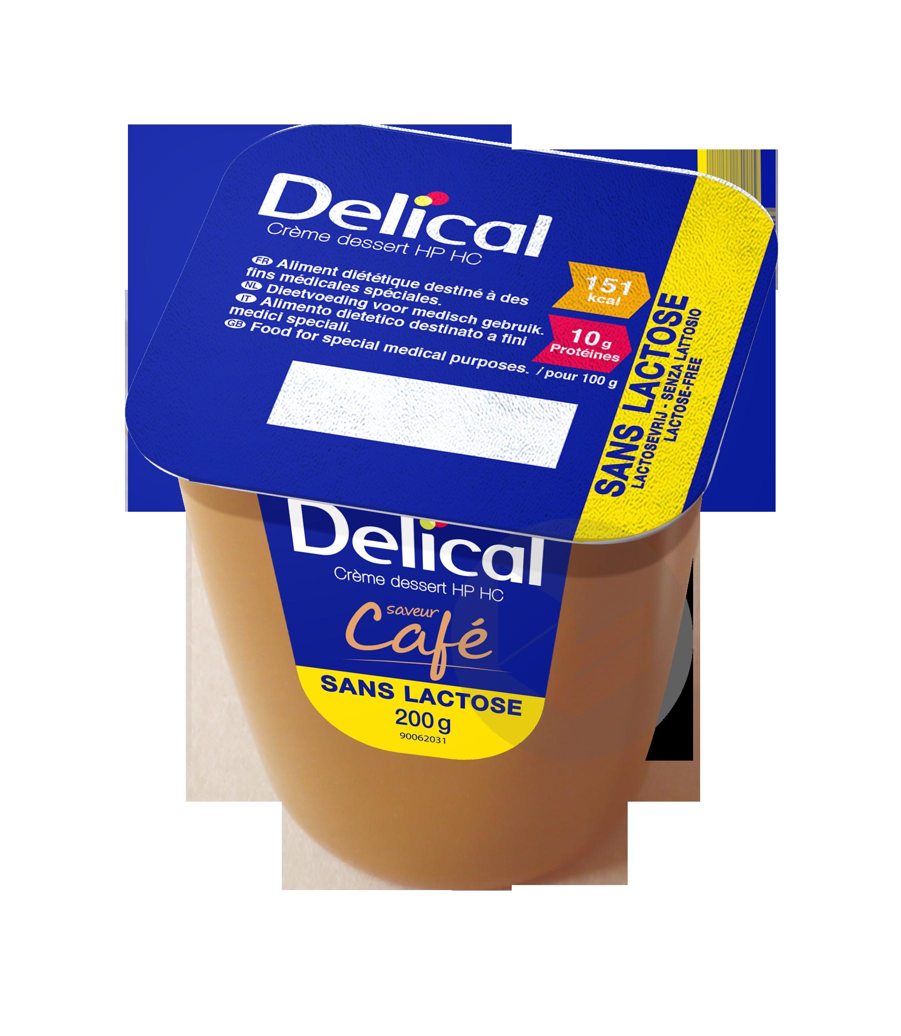 Delical Creme Dessert Hp Hc Sans Lactose Cafe