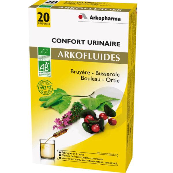 Arkofluide Bio S Buv Confort Urinaire 20 Amp 15 Ml
