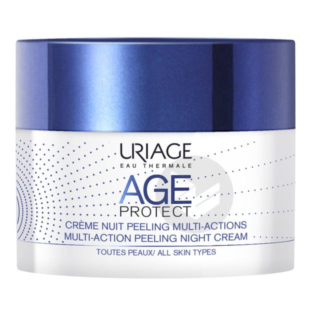 Age Protect Creme Nuit Peeling Multi Actions 50 Ml