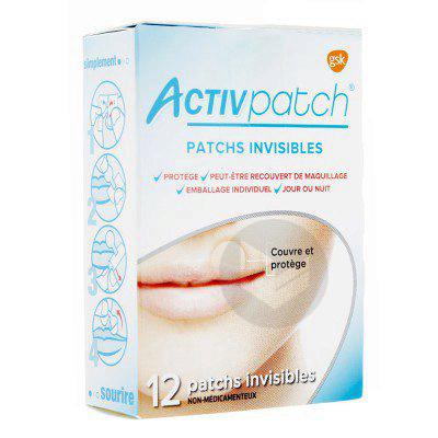 ACTIVPATCH Patch ultra fin bouton de fièvre transparent B/12