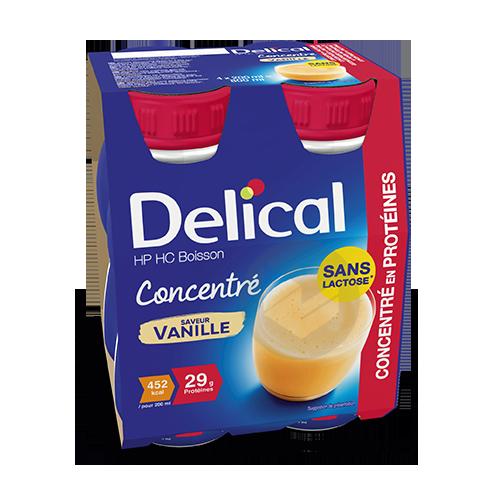 Delical Boisson Hp Hc Concentre En Proteines Sans Lactose Vanille