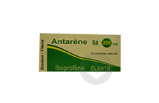 ANTARENE Gé 200 mg Comprimé pelliculé (Boîte de 30)