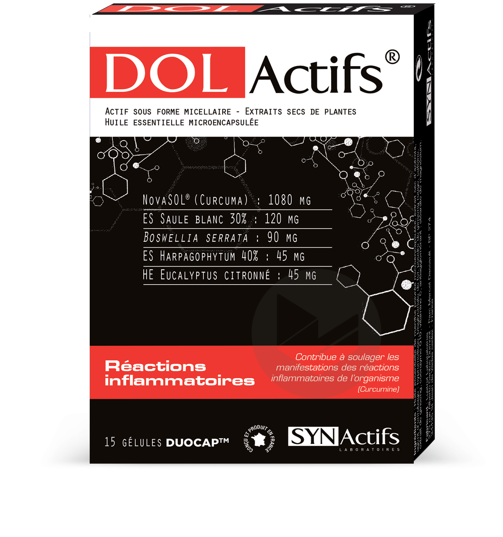 Synactifs Dolactifs Gel Duocap B 15