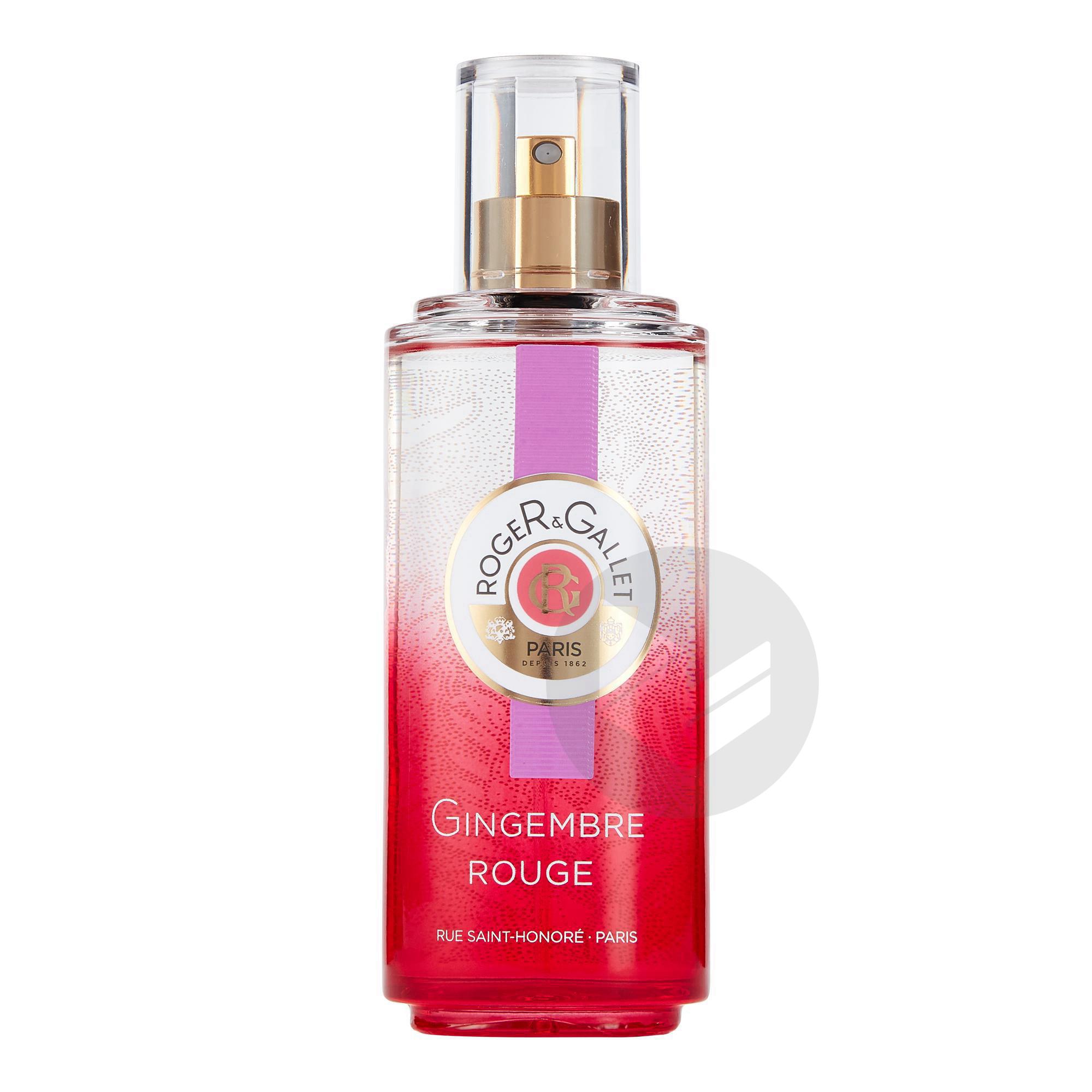 Gingembre Rouge Eau Fraiche Parfumee Bienfaisante Vaporisateur 100 Ml