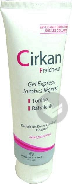 Fraicheur Gel Express Jambes Lourdes T 125 Ml