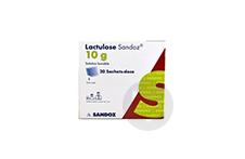 LACTULOSE SANDOZ 10 g Solution buvable en sachet-dose (20 sachets de 15ml)