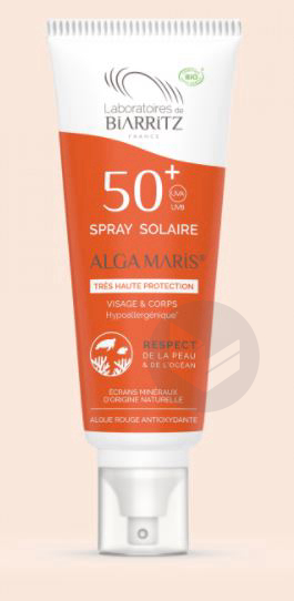 Algamaris Spf 50 Spray Solaire Fl 100 Ml