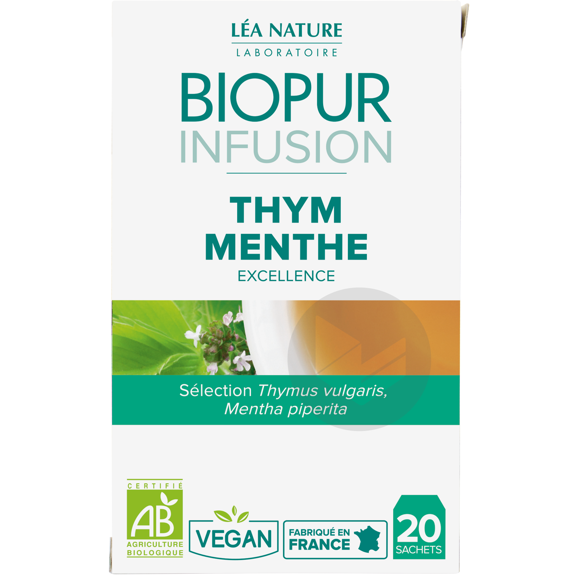 Infusion Thym Menthe
