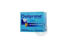 DOLIPRANE 150 mg Poudre pour solution buvable en sachet-dose (Boîte de 12)