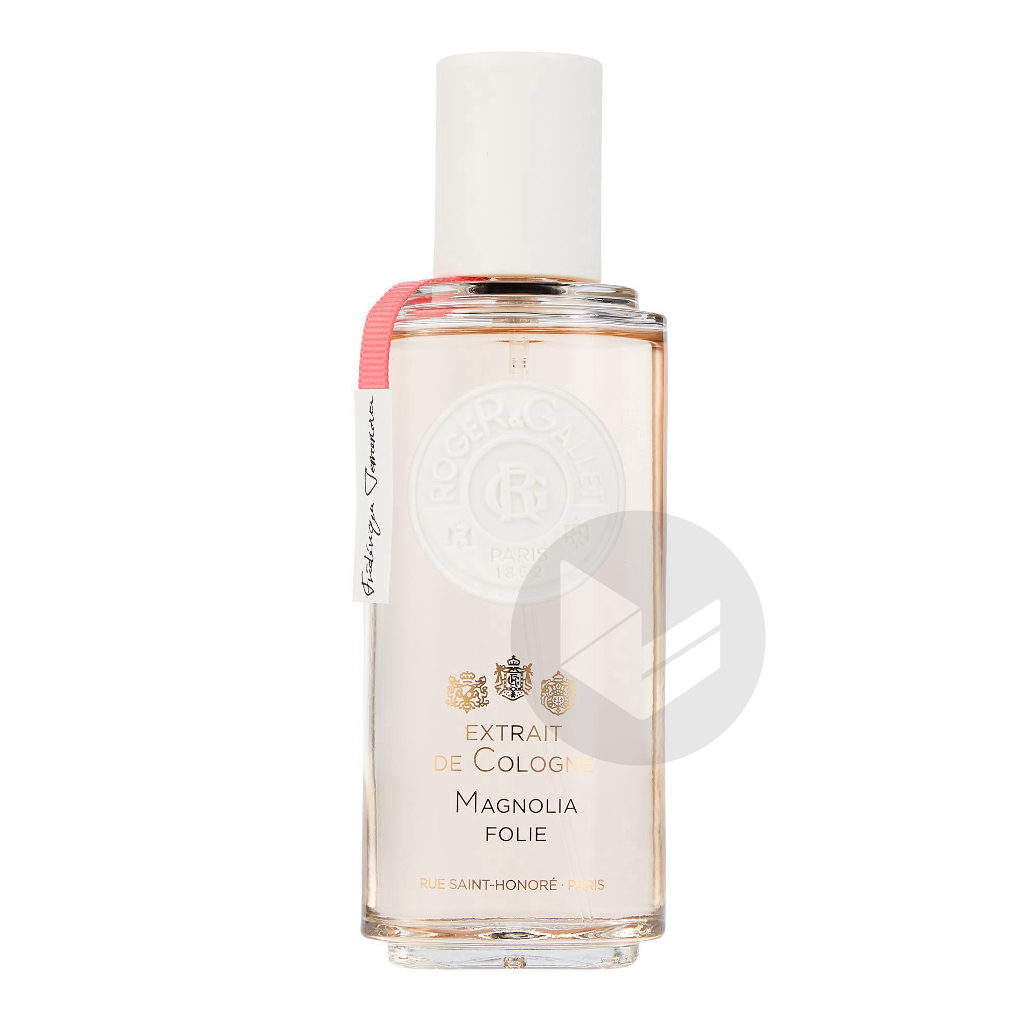 Magnolia Folie Extrait De Cologne Vaporisateur 100 Ml