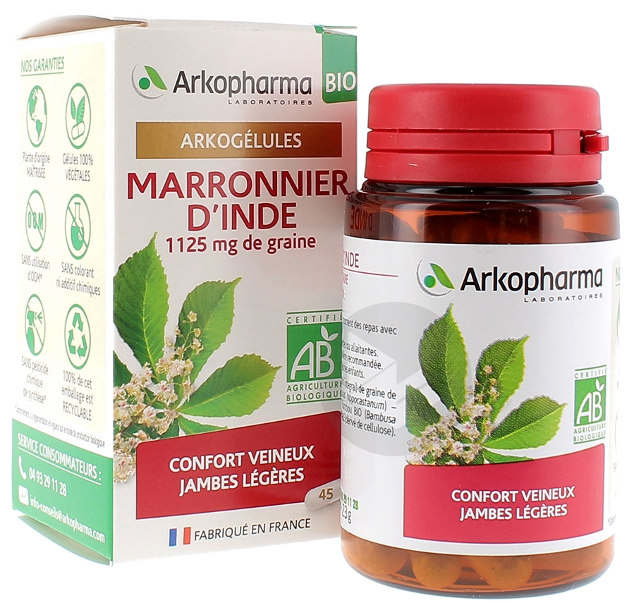 Arkogelules Bio Marronnier Dinde