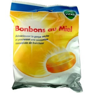 Bonbon Miel Sach 75 G