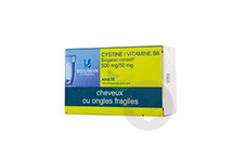 Cystine Vitamine B 6 Biogaran Conseil 500 Mg 50 Mg Comprime Pellicule Plaquette De 120