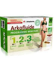 Arkofluide Bio Coffret Programme Minceur 3 X 10 Amp 15 Ml