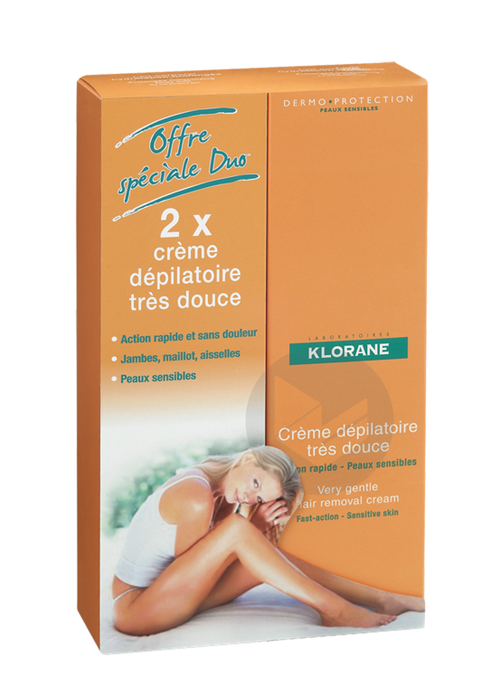 Duo Creme Depilatoire 2 X 150 Ml