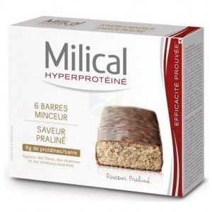 MILICAL  HP  BARRES PRALINE 6