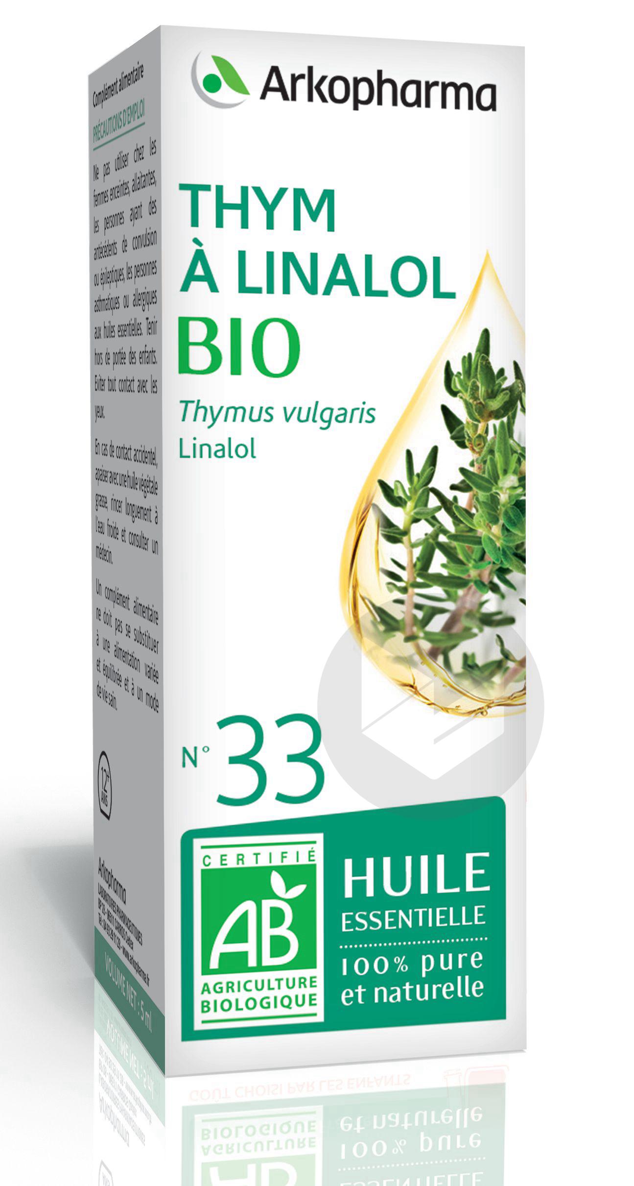 N 33 He Thym A Linalol Bio 5 Ml