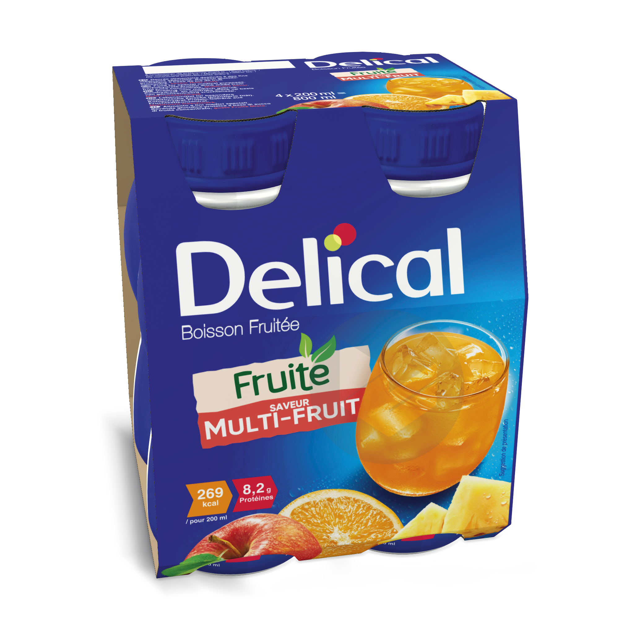 Delical Boisson Fruitee Multi Fruits