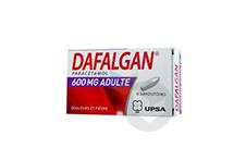 DAFALGAN 600 mg Suppositoire adulte (Plaquette de 10)