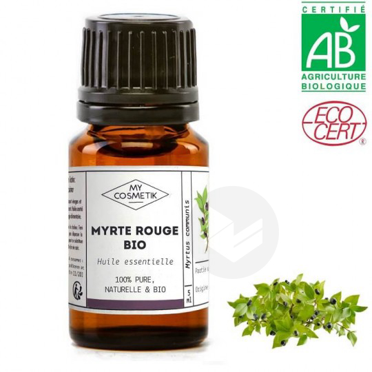 Huile Essentielle Myrte Rouge Bio 10 Ml