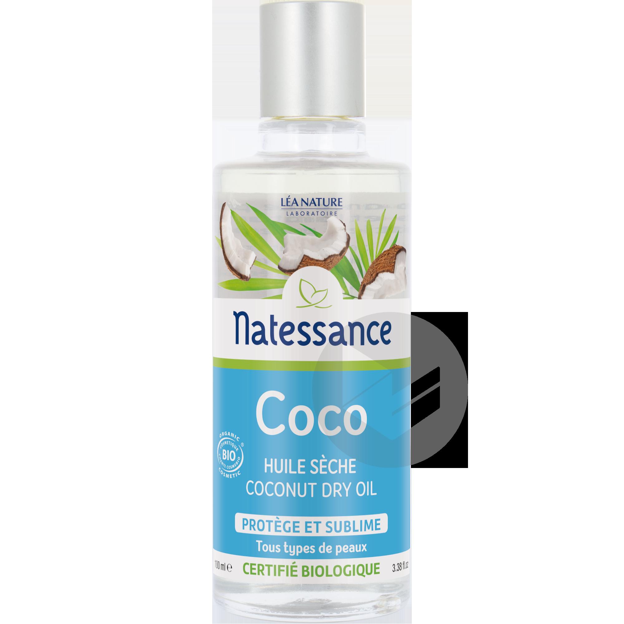 Huile Seche Coco Bio Protege Et Sublime