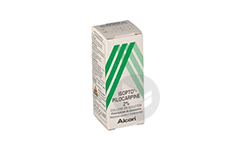 Isopto Pilocarpine 2 Collyre Flacon De 10 Ml