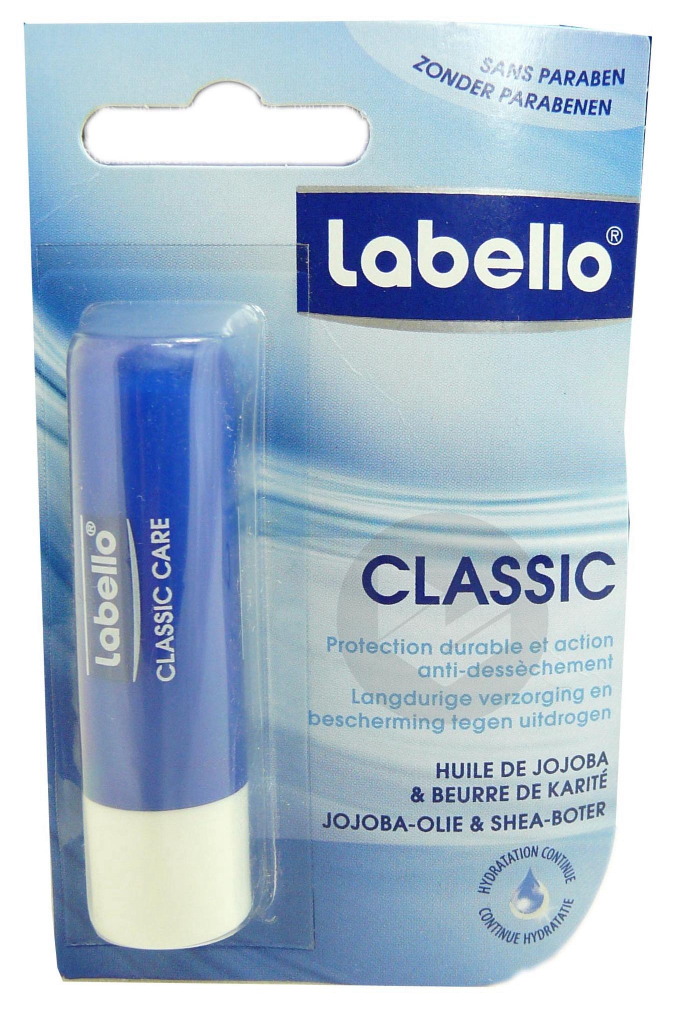Classic Stick Labial Etui 4 8 G