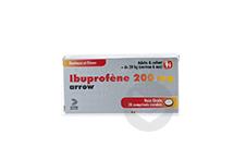 IBUPROFENE ARROW 200 mg Comprimé enrobé (Plaquette de 20)