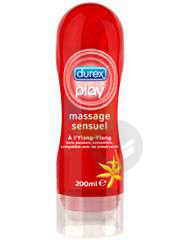 Play Gel De Massage Et Lubrifiant Sensuel Fl 200 Ml