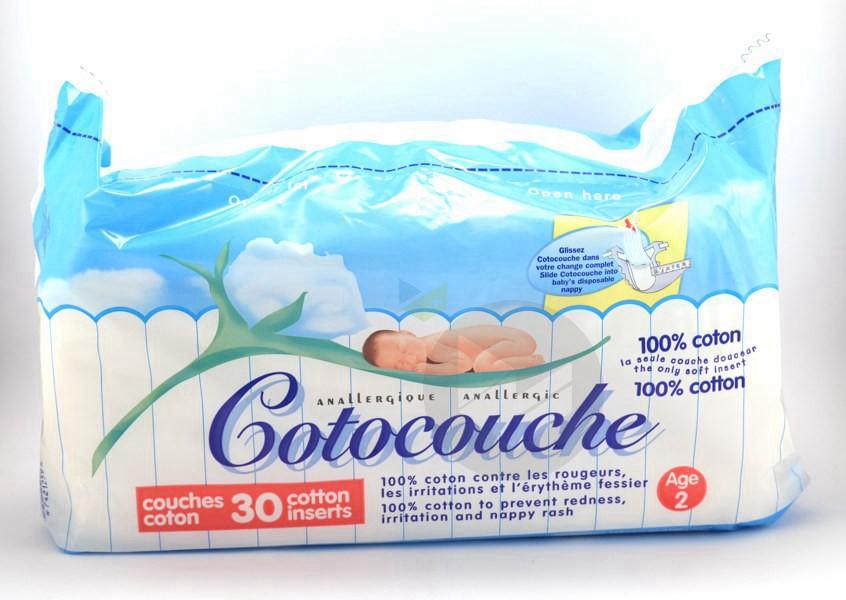 Cotocouche Couche 2 Eme Age Paq 30