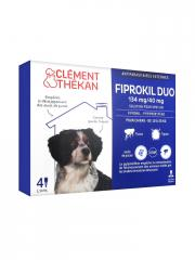 FIPROKIL DUO Solution pour spot-on chien 10-20kg 4Pipette/1,34ml