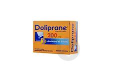 DOLIPRANE 200 mg Poudre pour solution buvable en sachet-dose (Boîte de 12)