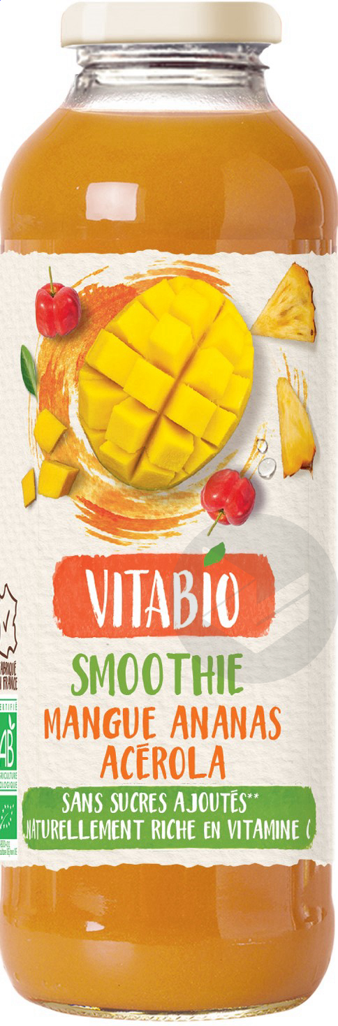 Vitabio Smoothie Mangue Ananas Acerola