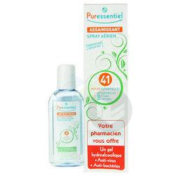 PURESSENTIEL ASSAINISSANT Spray aérien 41 huiles essentielles Fl/200ml+Gel hydro 80ml