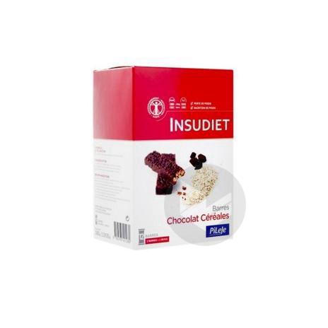 INSUDIET Barre croustillante chocolat céréales B/12/30g