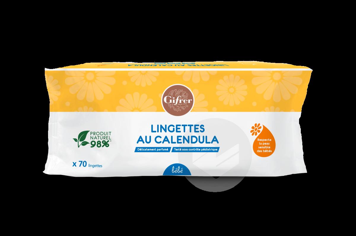 Lingettes Au Calendula X 70