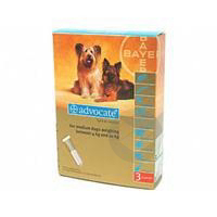 Advocate Spot On S Ext Chien De 4 A 10 Kg 3 Pip 1 Ml
