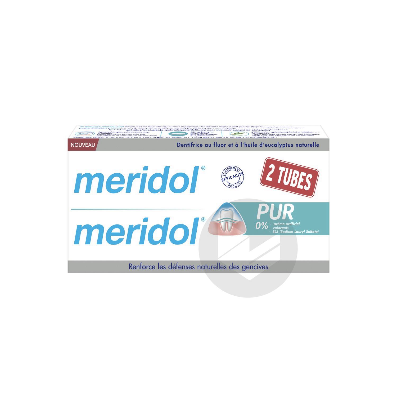 Pâte dentifrice 2T/75ml MERIDOL