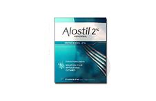 ALOSTIL 2 % Solution pour application cutanée (3 flacons de 60ml avec applicateur)