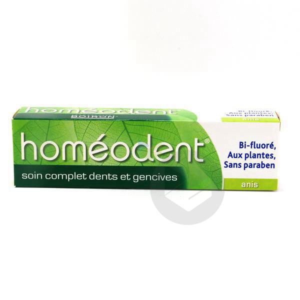 Soin Complet Pate Dentifrice Dents Et Gencives Anis T 75 Ml