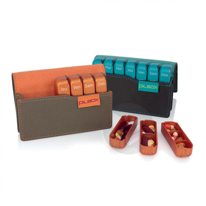 Pilbox Mini Distributeur Hebdomadaire De Medicaments